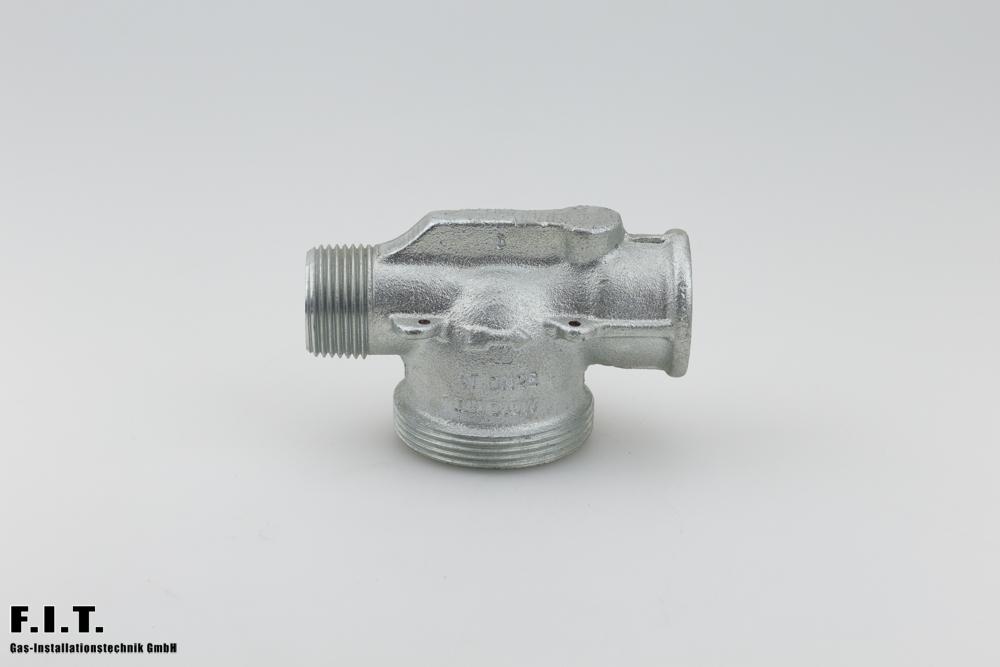 Gaszähleranschlussstück G4 - G25