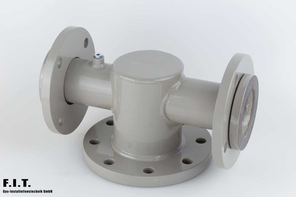 Gaszähleranschlussstück G40 - G160