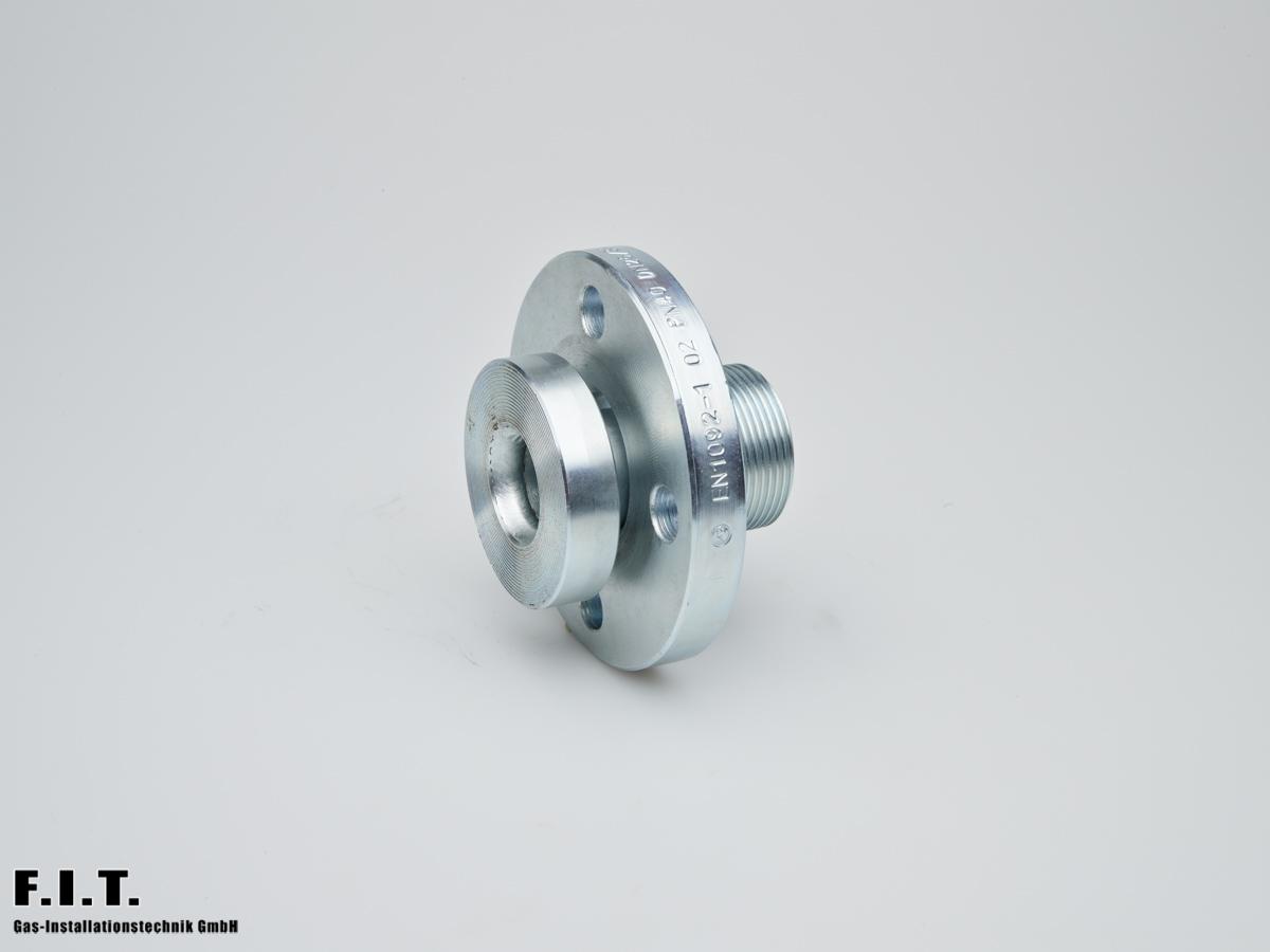 Flansch-Adapter DN 25